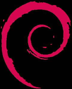 Logo systemu Debian
