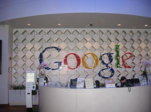 Widok ukazujący się po wejściu do Google Building 1900