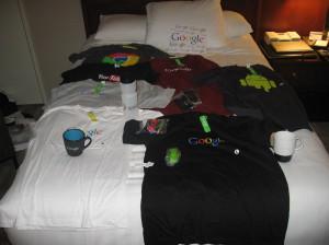 Rzeczy kupione w Google Onsite Store