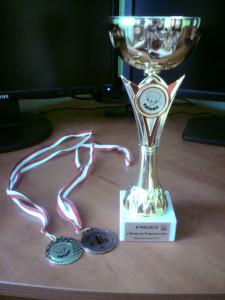 Puchar i medale Mrowqi